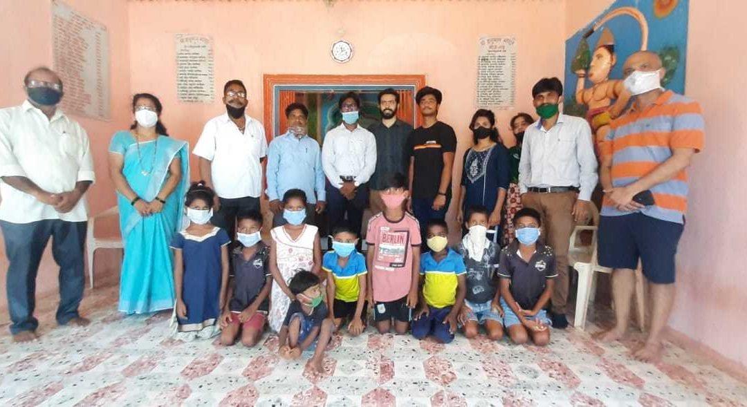 Foundation Donation Program at Alibaug Raigarh